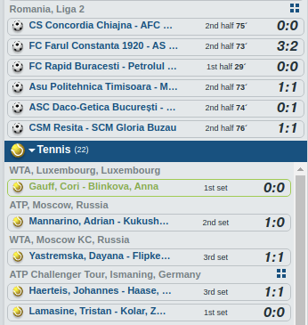 Bet-at-home Livebetting