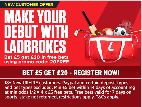 Ladbrokes open account